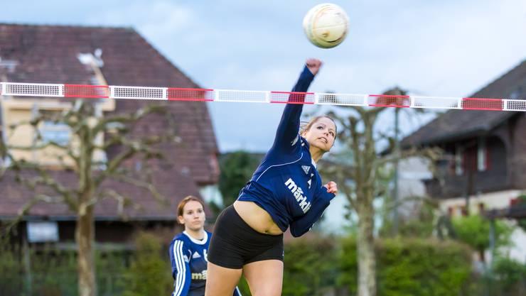 Andrea Gerber und ihre Teamkolleginnen haben gegen Schlieren gross aufgespielt und mit 3:1 gewonnen.
