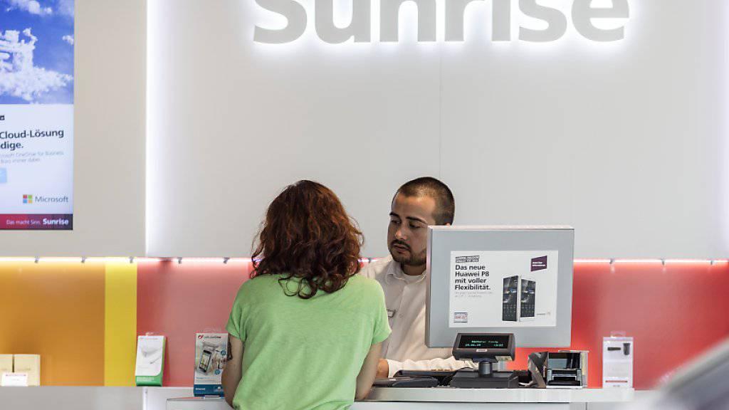 Das Telekommunikationsunternehmen Sunrise hat die Statistik der Schweizer Börsengänge im Jahr 2015 geprägt (Archivbild).