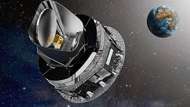 Grafik des Telekops Herschel