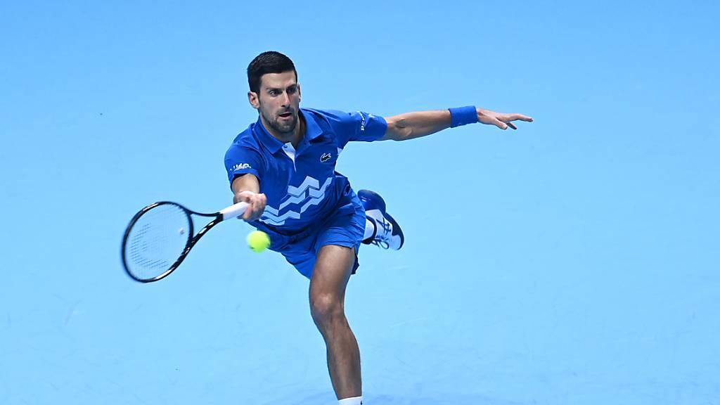 Lockerer Auftaktsieg von Djokovic