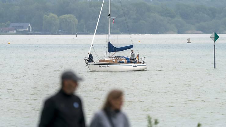 Ein Seegelboot auf dem Bodensee. (Symbolbild)