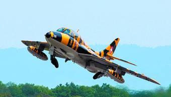 Hawker Hunter: Wird als einziger Oldtimer-Jet in Kestenholz zu sehen sein.