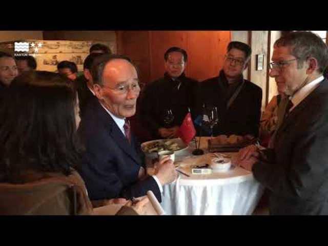 Einige Eindrücke des hohen chinesischen Besuchs im Kanton Aargau