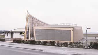 Gebaut ist beim Innovationspark Dübendorf erst der Info-Pavillon. Nun dürfte das ganze Projekt verzögert werden. Das Verwaltungsgericht hat den Gestaltungsplan aufgehoben. (Archivbild)