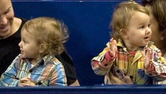 Zwillinge, wie die der Federers gibt es immer häufiger.