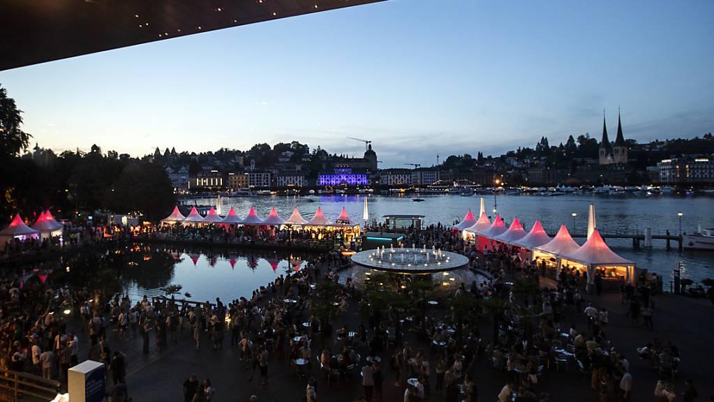 Die Zukunft des Luzerner Blue Balls Festivals ist noch immer ungewiss. (Archivbild)