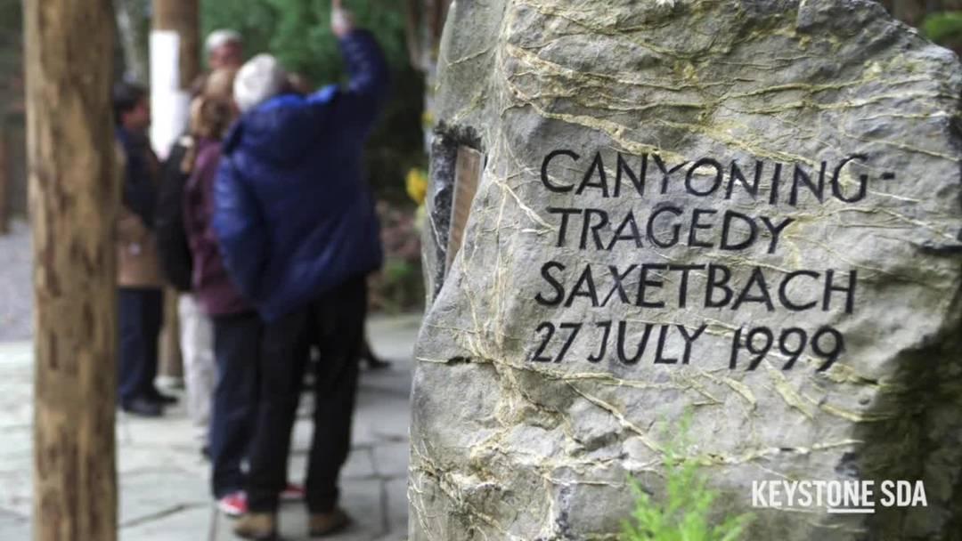 Vor 20 Jahren geschah das Canyoning-Unglück im Saxetbach