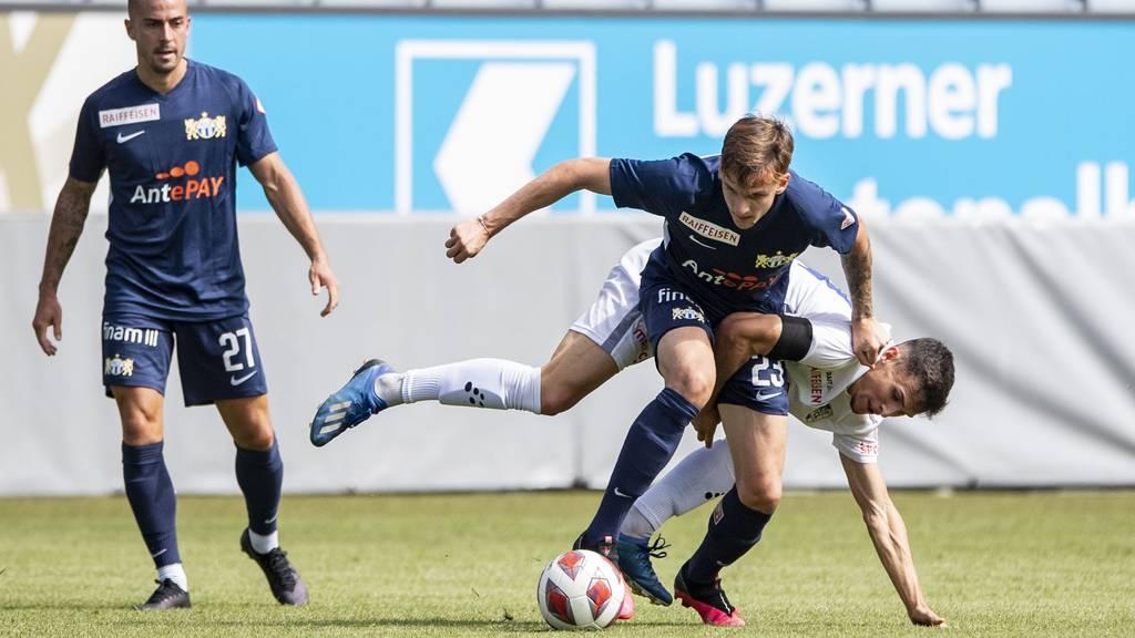 Der FC Luzern gewinnt gegen den FCZ mit 2:0