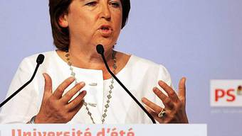 Parteichefin Martine Aubry in La Rochelle