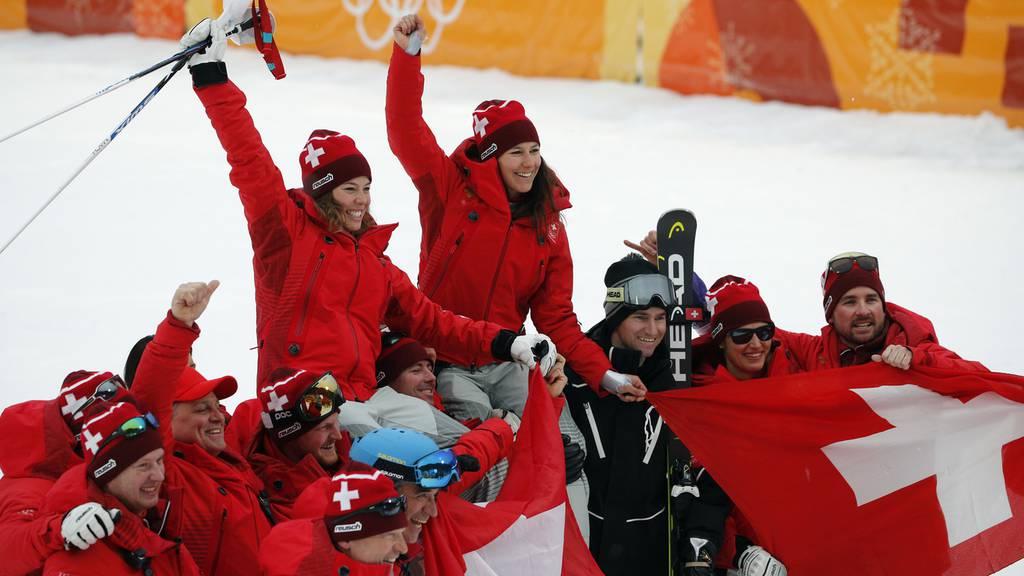 Gold, Silber, Bronze - was für ein Tag für die Schweiz!