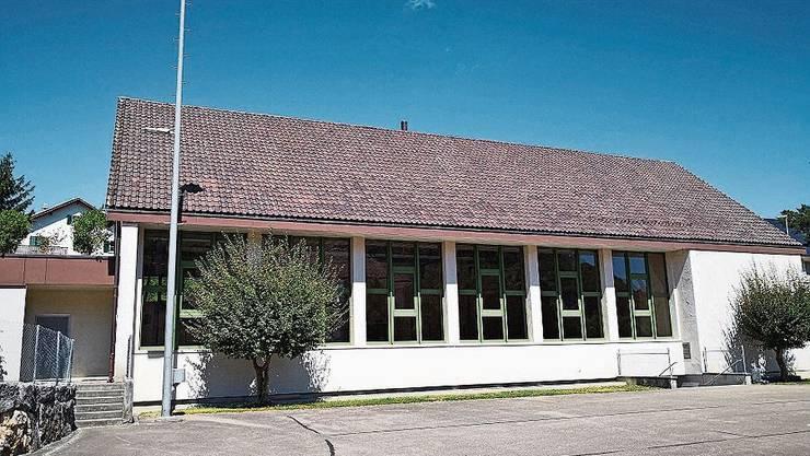 Die Turnhalle in Wittnau wurde in den 1960er-Jahren erstellt.