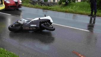 Ein 27- jähriger Motorradfahrer ist am Freitag in Kaltbrunn bei einem Selbstunfall verletzt worden. Er musste mit unbestimmten Verletzungen ins Spital gebracht werden.