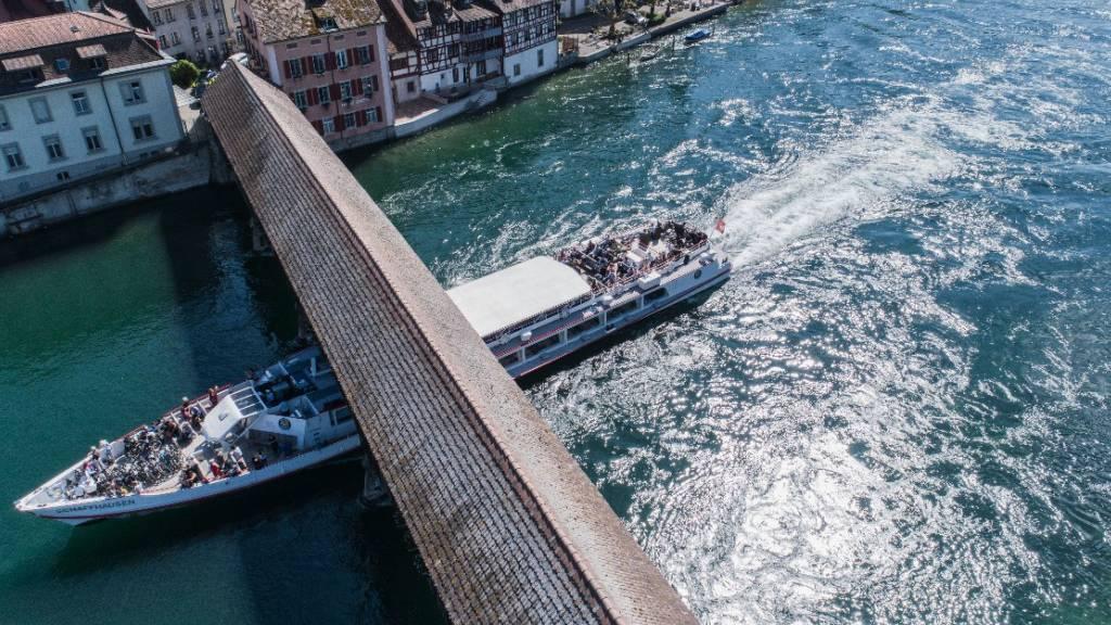 Reduzierter Schifffahrtsbetrieb auf Untersee und Rhein