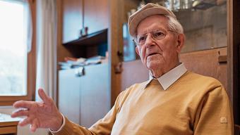 Isidor Bürgi war bis ins hohe Alter politisch interessiert.