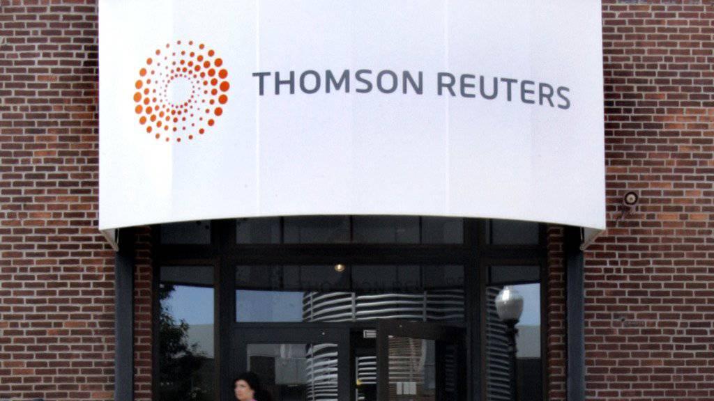 Thomson Reuters streicht 3'200 Stellen
