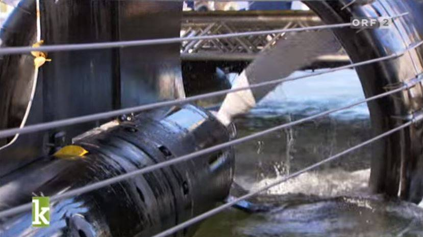 Entwicklung und Einsatz der Stromboje: Bericht für «Energy Globe Award», den Mondls Erfindung ebenfalls 2010 gewann.