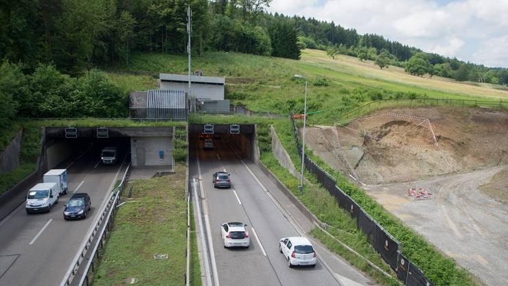 Am Ende des Gubristtunnels auf der A1 hat die Zürcher Kantonspolizei ein Auto mit vier Jugendlichen am Steuerrad gestoppt. (Symbolbild)