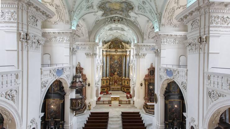 Blick in die neu renovierte Jesuitenkirche
