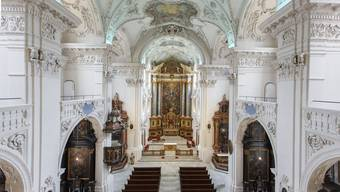 Die restaurierte Slothurner Jesuitenkirche