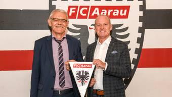 Der alte und neue Geschäftsführer: Robert Kamer und Roland Baumgartner.