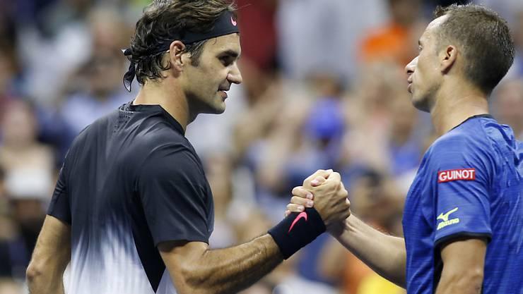 13 Duelle, 13 Siege: Roger Federer weist gegen Philipp Kohlschreiber eine makellose Bilanz aus