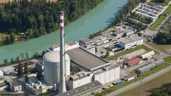 Das Kernkraftwerk Mühleberg an der Aare bei Bern. (Archiv)