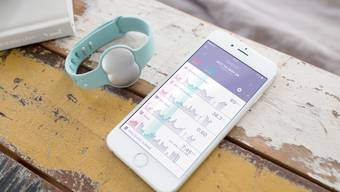Das Ava-Armband funktioniert zusammen mit einer App.