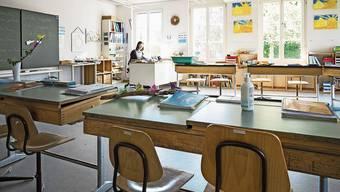 Nach dem Lockdown wieder zurück ins Klassenzimmer.