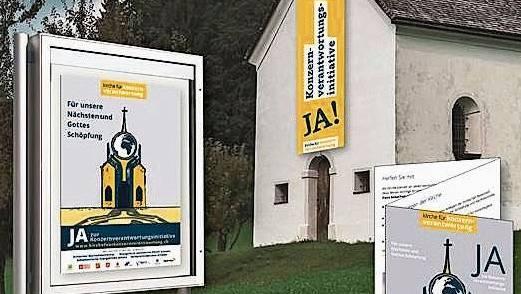 Kirche mit Politwerbung: Das strebt das Kirchenkomitee an.