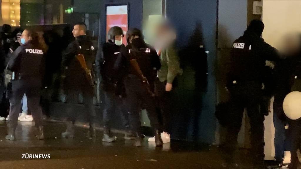 Grosseinsatz Stadtpolizei Winterthur: Pöbeleien von Jugendlichen sorgen für Ärger