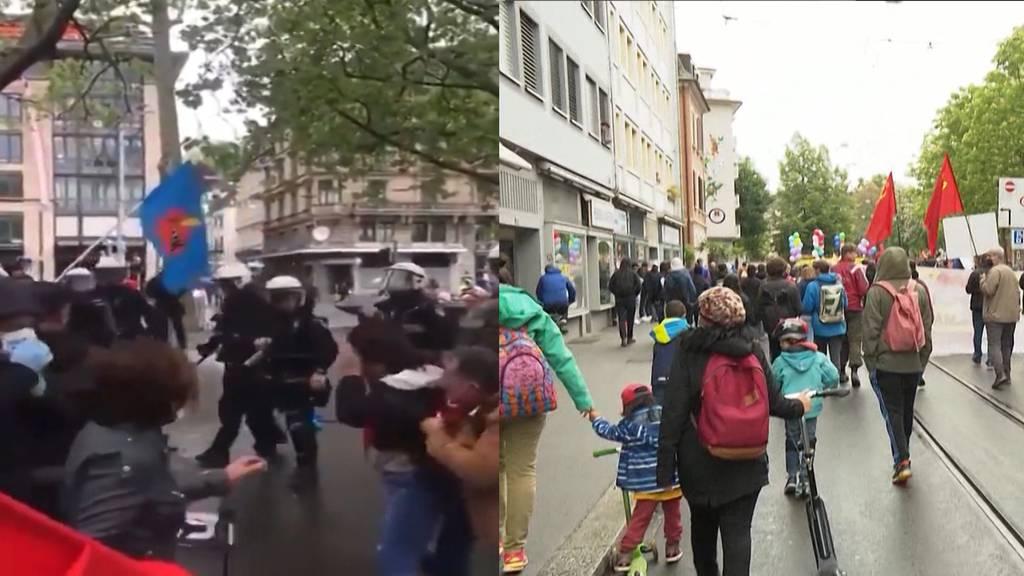 Demo-Verbot lockern? Zürcher Justizministerin fordert Klarheit