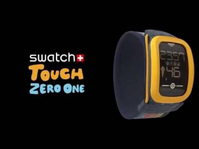 Swatch Touch Zero One: Mit dieser Uhr tritt Hayek gegen die Konkurrenz von Apple, LG und Co. antreten.