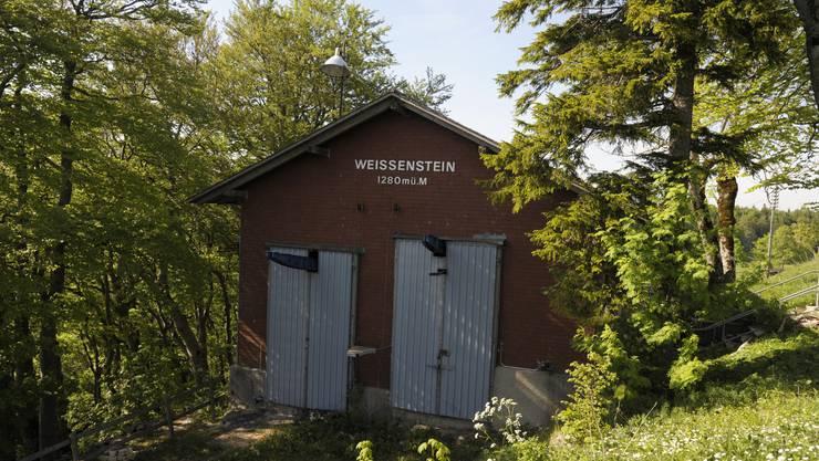 Die alte Weissenstein Sesseli-Station ist geschlossen. Der bahnlose Zustand bewegt Solothurnerinnen und Solothurner zur Unterschrift.