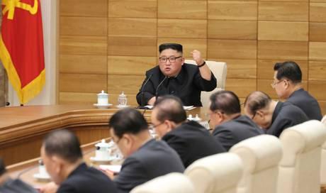 Nordkoreas Machthaber Kim redet Parteifunktionären ins Gewissen