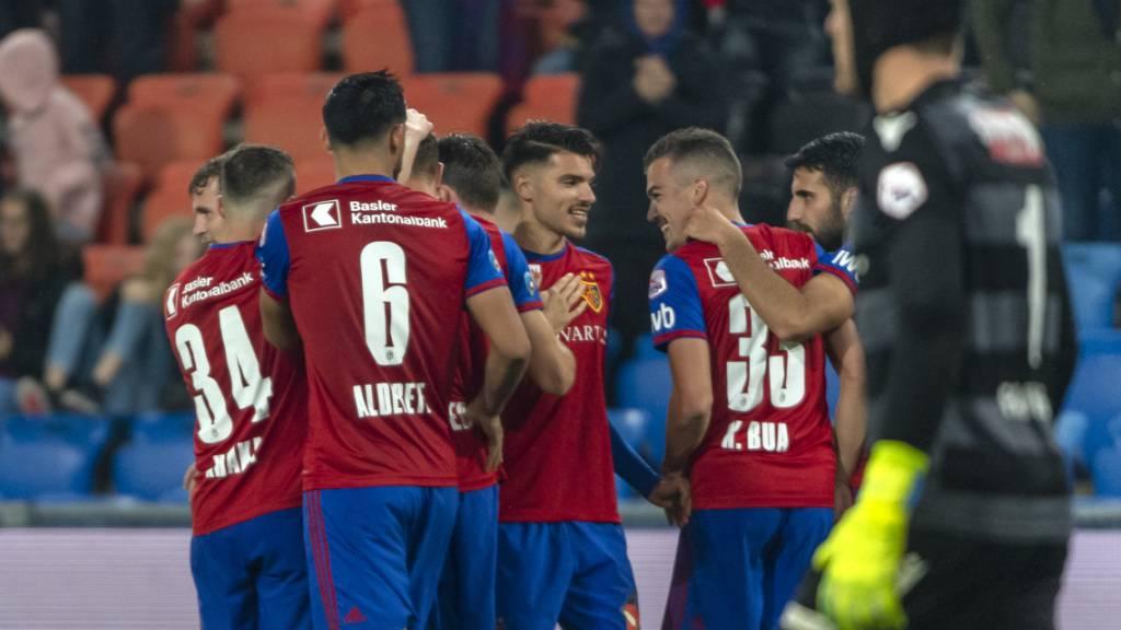 Dank 3:1 gegen Thun: Basel bleibt Leader