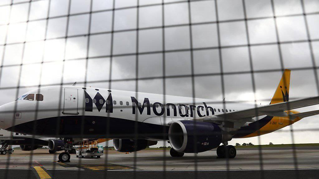 Konkurse von Fluggesellschaften wie Monarch Airlines bescherten Hotelplan im vergangenen Geschäftsjahr Zusatzkosten. (Archiv)