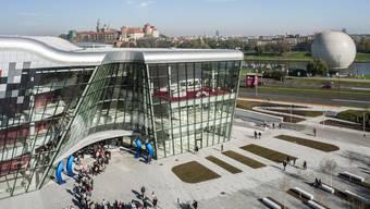 Aus dem verschlafenen Nest ist eine Wirtschaftsmetropole entstanden: Im Bild das Kongresszentrum von Krakau.