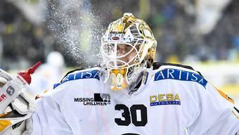 Elvis Merzlikins führte mit seinem zweiten Shutout der Saison den HC Lugano in Davos zum dritten Sieg in Folge