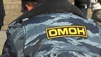 Russischer Polizist in Moskau (Archiv)