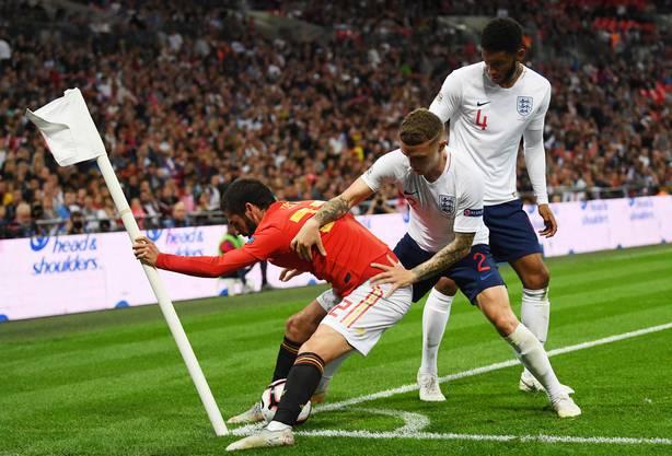 Zum Schluss hiess es immer noch 2:1 für Spanien.
