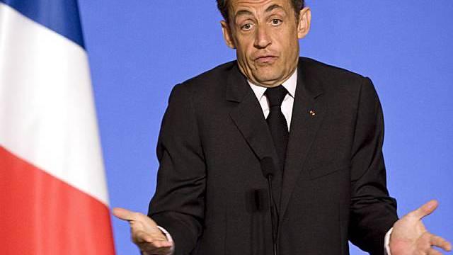 Nicolas Sarkozy steht nach Wahlniederlage unter Zugszwang (Archiv)