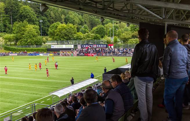 Der FC Baden trägt seine Heimspiele im Stadion Esp auf Kunstrasen aus. Baranzini
