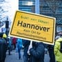 Klares Zeichen gegen Rechts in der niedersächsischen Hauptstadt.