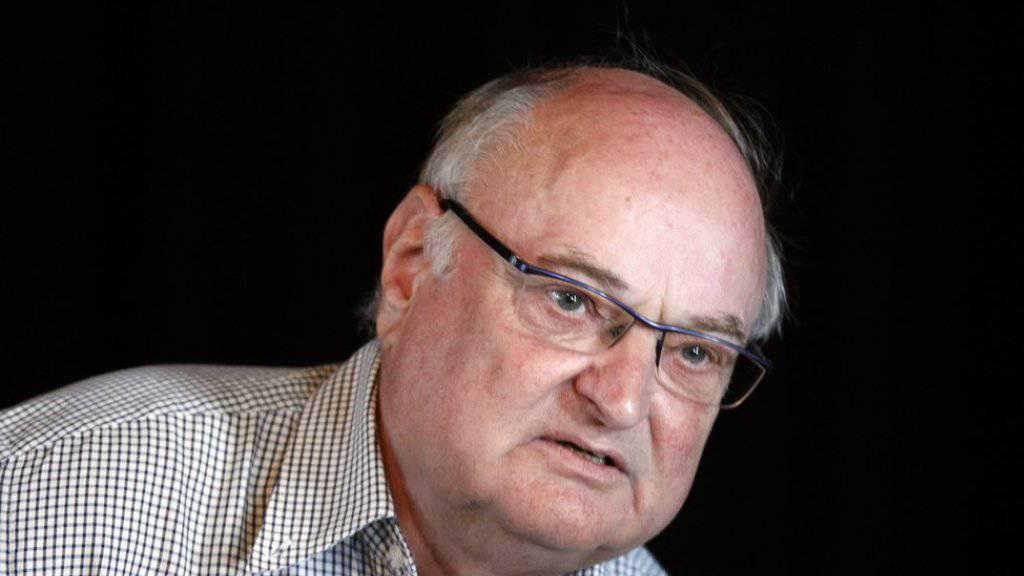 Er gehört zu den Preisträgern der diesjährigen Schweizer Literaturpreise: Mundart-Autor Ernst Burren. (Archivbild)
