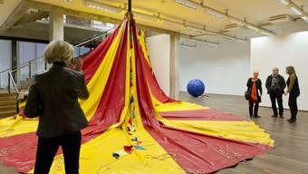 Untitled (Circus tent), 2012 © Latifa Echakhch