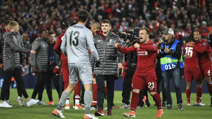 Nach dem Viertelfinal-Triumph mit der AS Roma im letzten Jahr erlebt Torhüter Alisson die nächste grosse Wende gegen Barcelona, diesmal mit Liverpool.