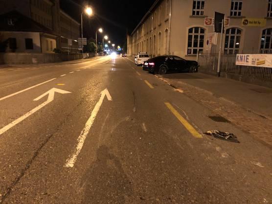 Der Audi-Fahrer fuhr betrunken und ohne Führerausweis.