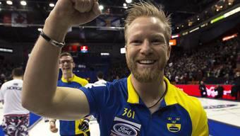 Niklas Edin behauptet sich als erfolgreichster Curler Europas und der Welt
