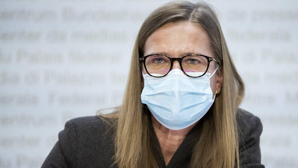 Virginie Masserey, Leiterin Sektion Infektionskontrolle BAG, mahnt, dass die Lage noch immer fragil sei.