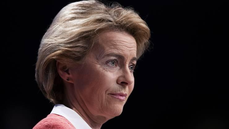 Schwerer Start an der EU-Spitze: Die designierte Kommissionspräsidentin Ursula von der Leyen.